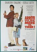 Stop! Or My Mom Will Shoot <p><i> (Original Belgian Movie Poster) </i></p>