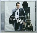 007 : CASINO ROYALE Original CD Soundtrack (front)