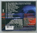 007 : DIE ANOTHER DAY Original CD Soundtrack (back)