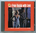 007 : FROM RUSSIA WITH LOVE Original CD Soundtrack (front)