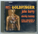 007 : GOLDFINGER Original CD Soundtrack (front)