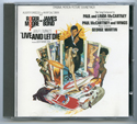 007 : LIVE AND LET DIE Original CD Soundtrack (front)