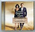 007 : QUANTUM OF SOLACE Original CD Soundtrack (front)