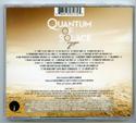 007 : QUANTUM OF SOLACE Original CD Soundtrack (back)