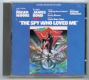 007 : The Spy Who Loved Me <p><i> Original CD Soundtrack </i></p>