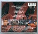 007 : TOMORROW NEVER DIES Original CD Soundtrack (back)