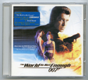 007 : THE WORLD IS NOT ENOUGH Original CD Soundtrack (front)