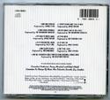 A LEAGUE OF THEIR OWN Original CD Soundtrack (back)