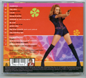 AUSTIN POWERS : THE SPY WHO SHAGGED ME Original CD Soundtrack (back)