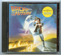 BACK TO THE FUTURE Original CD Soundtrack (front)