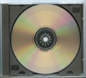 BACK TO THE FUTURE Original CD Soundtrack (CD face)