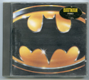BATMAN Original CD Soundtrack (front)