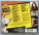 BOLT Original CD Soundtrack (back)