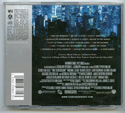 THE DARK KNIGHT Original CD Soundtrack (back)