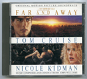 FAR AND AWAY Original CD Soundtrack (front)