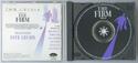 THE FIRM Original CD Soundtrack (Inside)