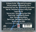 FREEJACK Original CD Soundtrack (back)