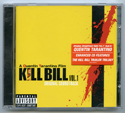 KILL BILL VOL. 1 Original CD Soundtrack (front)