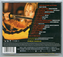KILL BILL VOL. 1 Original CD Soundtrack (back)