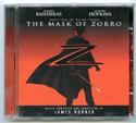 THE MASK OF ZORRO Original CD Soundtrack (front)