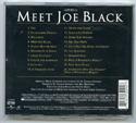 MEET JOE BLACK Original CD Soundtrack (back)