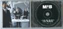 MEN IN BLACK Original CD Soundtrack (Inside)