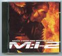 MISSION IMPOSSIBLE 2 Original CD Soundtrack (front)