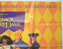 THE HUNCHBACK OF NOTRE DAME (Top Right) Cinema Quad Movie Poster