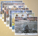 JAWS 3-D Cinema 7 Colour FOH Stills / Lobby Cards