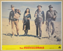 THE PROFESSIONALS (Card 1) Cinema Set of Colour FOH Stills / Lobby Cards
