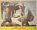 THE PROFESSIONALS (Card 2) Cinema Set of Colour FOH Stills / Lobby Cards