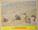 THE PROFESSIONALS (Card 3) Cinema Set of Colour FOH Stills / Lobby Cards