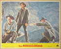 THE PROFESSIONALS (Card 4) Cinema Set of Colour FOH Stills / Lobby Cards