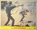 THE PROFESSIONALS (Card 5) Cinema Set of Colour FOH Stills / Lobby Cards