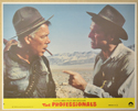 THE PROFESSIONALS (Card 6) Cinema Set of Colour FOH Stills / Lobby Cards
