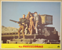 THE PROFESSIONALS (Card 7) Cinema Set of Colour FOH Stills / Lobby Cards