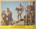 THE PROFESSIONALS (Card 8) Cinema Set of Colour FOH Stills / Lobby Cards