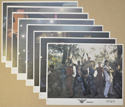 Street Fighter <p><i> Set of 8 Original Colour Front Of House Stills / Lobby Cards  </i></p>