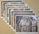 TRADER HORN Cinema Set of Colour FOH Stills / Lobby Cards