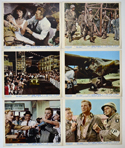 CAST A GIANT SHADOW Cinema Colour FOH Stills / Lobby Cards
