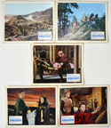 Fall Of The Roman Empire (The) <p><a> 5 Original Colour Front Of House Stills / Lobby Cards </i></p>