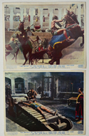 Revolt Of The Slaves <p><a> 2 Original Colour Front Of House Stills / Lobby Cards </i></p>