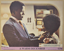 A WARM DECEMBER (Card 2) Cinema Colour FOH Stills / Lobby Cards