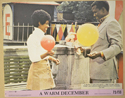A WARM DECEMBER (Card 8) Cinema Colour FOH Stills / Lobby Cards