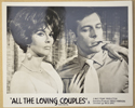 ALL THE LOVING COUPLES (Card 1) Cinema Black and White FOH Stills / Lobby Cards