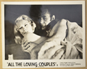 ALL THE LOVING COUPLES (Card 2) Cinema Black and White FOH Stills / Lobby Cards