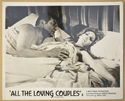 ALL THE LOVING COUPLES (Card 3) Cinema Black and White FOH Stills / Lobby Cards