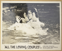 ALL THE LOVING COUPLES (Card 5) Cinema Black and White FOH Stills / Lobby Cards