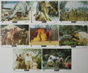 BABY - SECRET OF THE LOST LEGEND Cinema Set of Colour FOH Stills / Lobby Cards