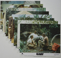 BABY - SECRET OF THE LOST LEGEND (Full View) Cinema Set of Colour FOH Stills / Lobby Cards